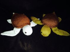Looking for your next project? You're going to love Sea Turtle Knitted Stuffy Pattern by designer Just for Ewe.