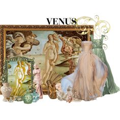 """Art History : The Birth of Venus"" by missm26 on Polyvore"
