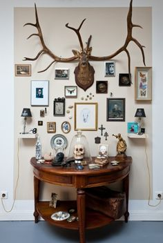 Cabinet of Curiosities inspiration