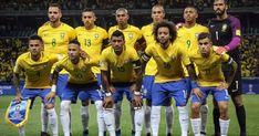 A CBF e o técnico Tite convocou na tarde desta terça-feira (14), às 14h, os 23 jogadores que irão vestir a camisa da Seleção Brasileira na Copa do Mundo FIFA 2018. A convocação aconteceu na sede da Confederação Brasileira de Futebol (CBF), no Rio de Janeiro. Desde o mês de fevereiro, pelo menos 16 nomes já podiam ser considerados como confirmados. No entanto, com a lesão de Daniel Alves na semana passada, o número caiu para 15, restando oito vagas indefinidas. Goleiros Alisson (Roma) Ederson (Ma Brazil Football Team, Sport Football, Soccer, Daniel Alves, Time Do Brasil, Neymar Jr, Boys, Rio, Pasta
