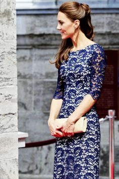 June 30, 2011 - The Duchess of Cambridge outside the official residence of the Governor General of Canada, Rideau Hall in Ottawa, on the first day of her visit to the Commonwealth country.