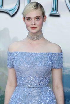 Elle Fanning – 'Maleficent' World Premiere in Los Angeles Ellie Fanning, Fanning Sisters, Dakota And Elle Fanning, Elle Fanning Maleficent, Divas, Actrices Hollywood, Looks Chic, Light Skin, Alternative Wedding