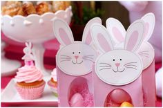 Easter Bunny Favor Boxes (so cute)