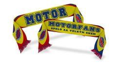 Šály pro hokejový Fanclub MotorFans