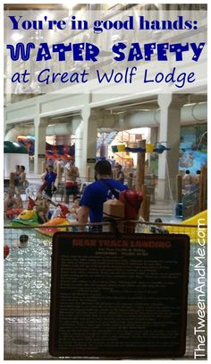 Water Safety at Great Wolf Lodge--so impressive!