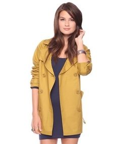 Classic Trench Coat - New Arrivals - Apparel - Outerwear - 2078967222 - Forever21 - StyleSays