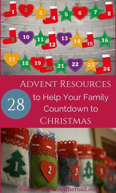 Advent countdown resources #Advent #Christmas