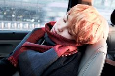 Awweee sleeping Jimjim ~.~