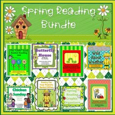 This bundle includes materials to use with some of my favorite spring titles. I've included materials to build fluency, work on comprehension skills, and to help your students become strong writers and thinkers. Each spring book includes vocabulary, reading comprehension materials to address a variety of skills (visualizing, author's craft, story elements, cause/effect, character analysis, questioning and finding text evidence to support opinions, and summarizing), and writing materials.