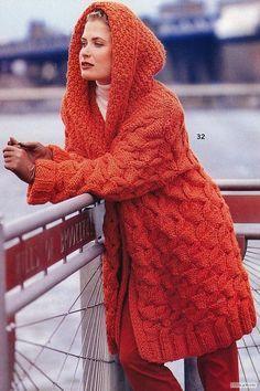 Красное пальто из Vogue