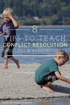 Conflict Resolution – How to Help Toddlers & Preschoolers Learn to Communicate Better