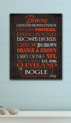 Cleveland Browns <3  Ready to Hang Standout