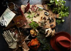 Photo: Gentl & Hyers Prop Styling: Amy Chin Town & Country Magazine forage, photography, still life