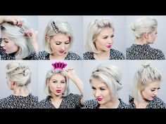 TOP 10 BEST SHORT HAIRSTYLES 2016 | Milabu - YouTube