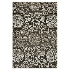 I pinned this Martina Rug in Charcoal from the Loloi event at Joss and Main!