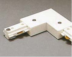 """TR2131 Two Circuit """"L"""" Connector with Power Feed  Item# TR2131  Regular price: $30.00  Sale price: $21.90"""