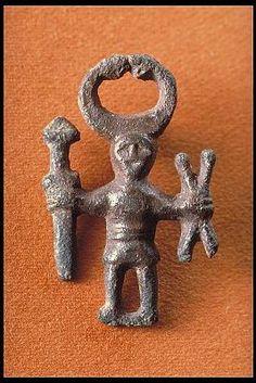 Viking age / Bronze pendant / Uppland