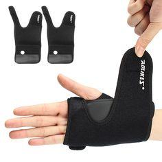 AOLIKES Deportes muñeca Palm brace wrap esguince daño apoyo protector con placa de aluminio