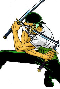 Roronoa Zoro by on DeviantArt Zoro Nami, Roronoa Zoro, Zoro One Piece, Pirates, Anime, Deviantart, Cartoon, Rock, Sleeves