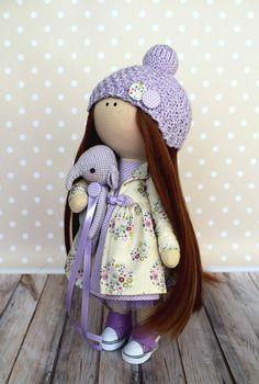 Handmade Doll Baby room Doll Textile Doll Tilda Doll Art Doll