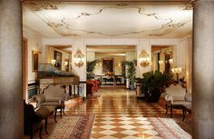 Hotel Gritti Palace, Venice—The Hall