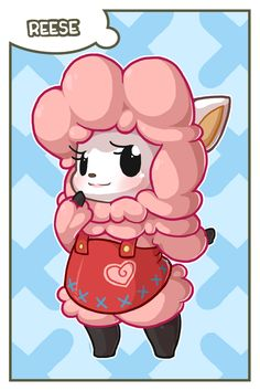 ACNL - Reese Card by MorningPanda