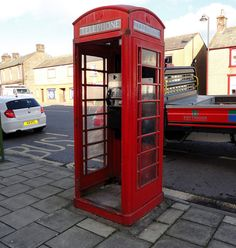 Air conditioned phone box...