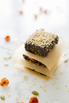 Black Sesame Energy Bars