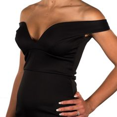 Get the ultimate cleavage with the Secret U Plunge Bra Black Size A to E Cup  Now you can wear that dress!