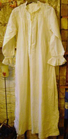 Antiken viktorianischen oder edwardianischen Baumwolle