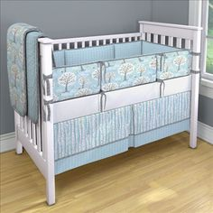 Windy Day bedding. I'm not a big fan of pastels and definitely not baby blue, but this set is pretty amazing. The pattern = AWESOME