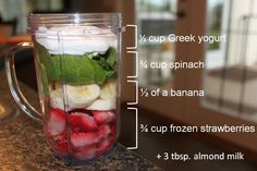 Delicious and super simple smoothie recipes, enjoy!