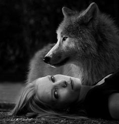 LINDA & her love of wolves