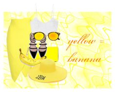 """""""yellow #3"""" by lallushka on Polyvore"""
