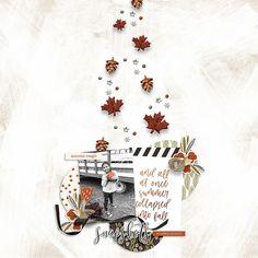 Fall Is For Digital Scrapbook Elements - Sahin Designs - Dunia Designs