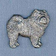 Chow Chow Pin by George Harris. $9.95. Made with surprising detail, each Chow Chow pin is perfect for men and women. Cast from pewter, a jewelry metal which maintains its antiqued look, and secured with two push-on clasps to prevent rotation, these Chow pins make a great decoration for your jacket, vest, hat, lapel, etc. A great collectible or makes a nice gift for dog enthusiasts. Approximate size on the Chow Chow pin is 1 1/8 x 1 3/8 inches.