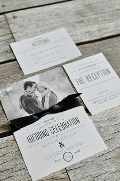 Modern meets classic with these wedding invitations from @dawninvites  #weddinginvitations #modernwedding