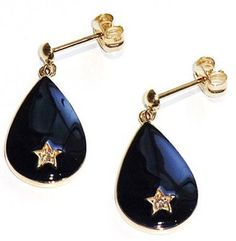 Pretty star earring for holiday / ShopStyle: Enasoluna エナソルーナ shooting star pierced - shopstyle.co.jp