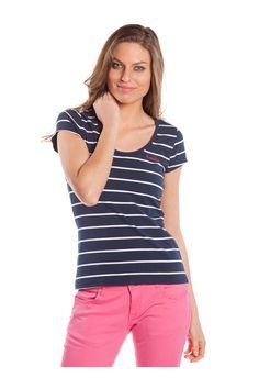 T-shirt de manga corta. #navystyle - MUJER | Rosalita McGee