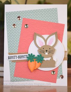 Did You Stamp Today?: Sweet Little Bunny - Stampin' Up! Punches