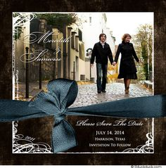 Modern-Square-Photo-Save-Date-blue-brown