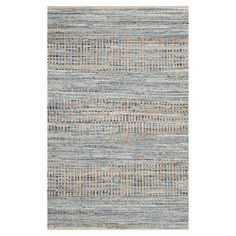 Safavieh Cape Cod Natural and Blue Area Rug | AllModern