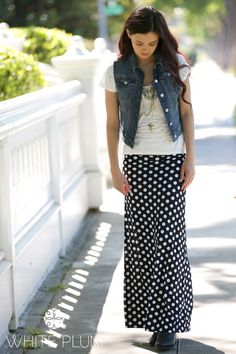 Essential Printed Maxi Skirt! S-XL Sizing! 14 Styles! | Jane
