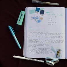I made this spread a while ago, but self-care is just what I need after a stressful week. How do you practice self-care? Stabilo Boss, What I Need, Muji, Self Care, Pantone, Stress, Bullet Journal, Psychological Stress