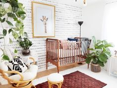 A Bright and Modern Boho Nursery - Project Nursery