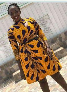 Beautiful Short Ankara Gown Styles ankara short gown styles of 2019 can never get better Short Ankara Dresses, Ankara Gown Styles, African Print Dresses, African Print Fashion, Africa Fashion, African Dress, Ankara Gowns, African Prints, African Attire
