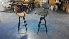 Metal Stool, Metal Chairs, Cafe Furniture, Metal Furniture, Bar Stools, Design, Home Decor, Metal Cafe Chairs, Bar Stool Sports