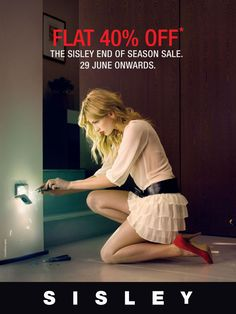 End of Season sale at Sisley - Amanora Town Centre