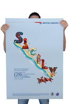 Sicily for British Airways on Pantone Canvas Gallery