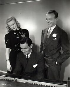 Ginger Rogers, Irving Berlin, and Fred Astaire!